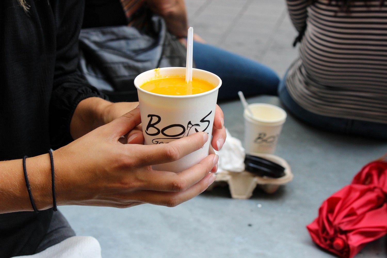 De lekkerste soep en broodjes bij Bors Gasztrobár