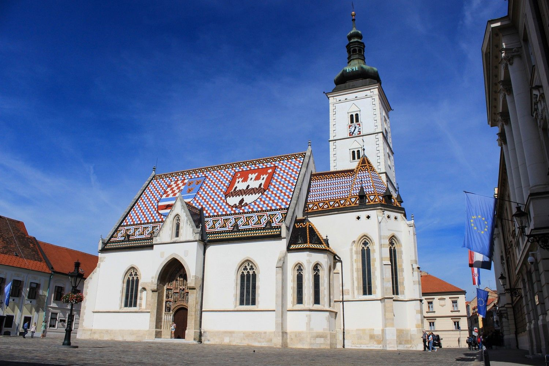 Sint-Marcuskerk in Zagreb