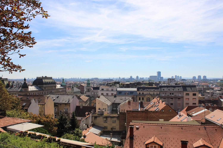 Zagreb uitzicht