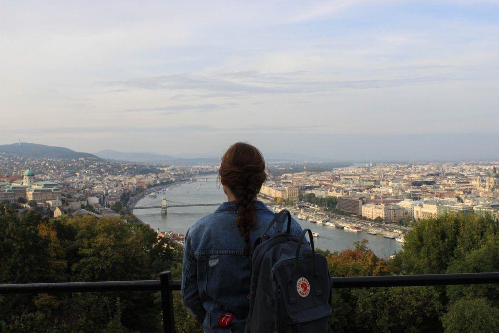 Boedapest Boedapest vanaf de Gellértberg