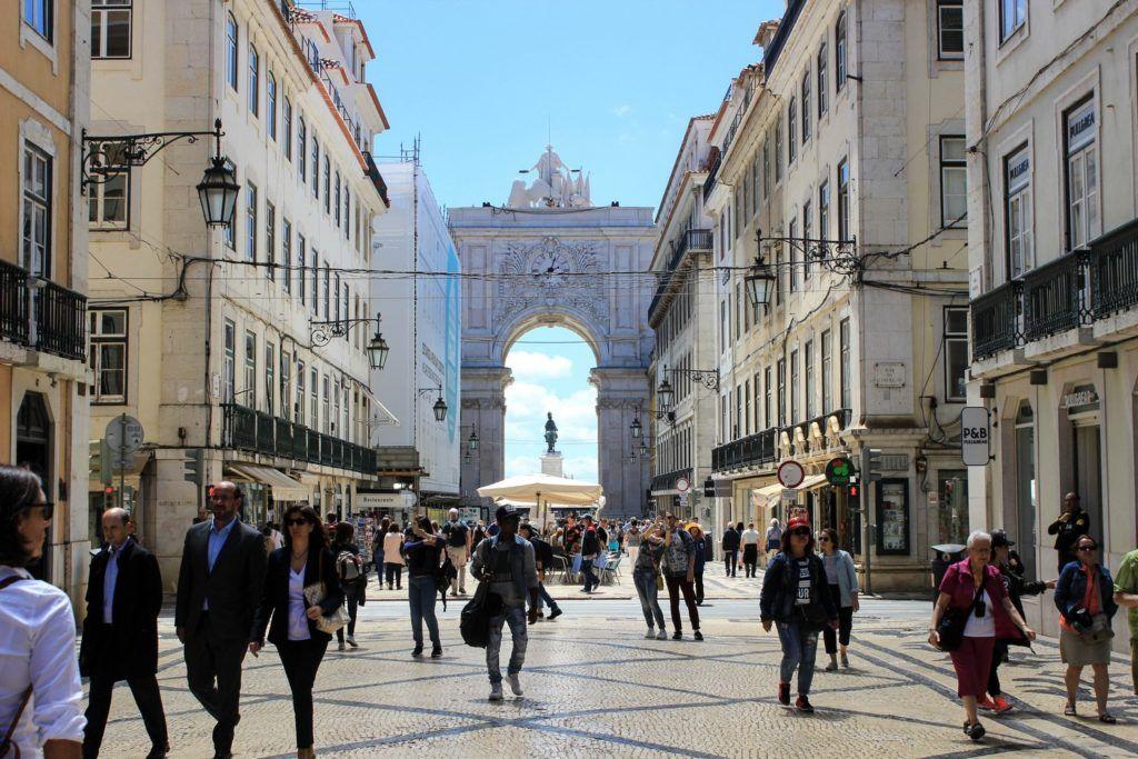 arco de rua augusta lissabon