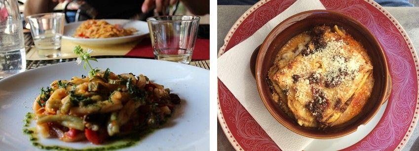 Italiaanse pasta en lasagne