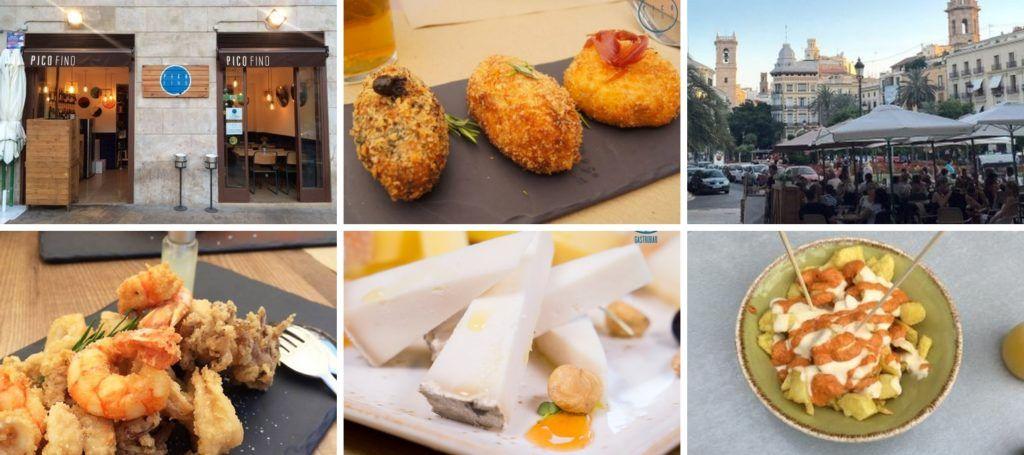 Pico Fino Gastrobar in Valencia