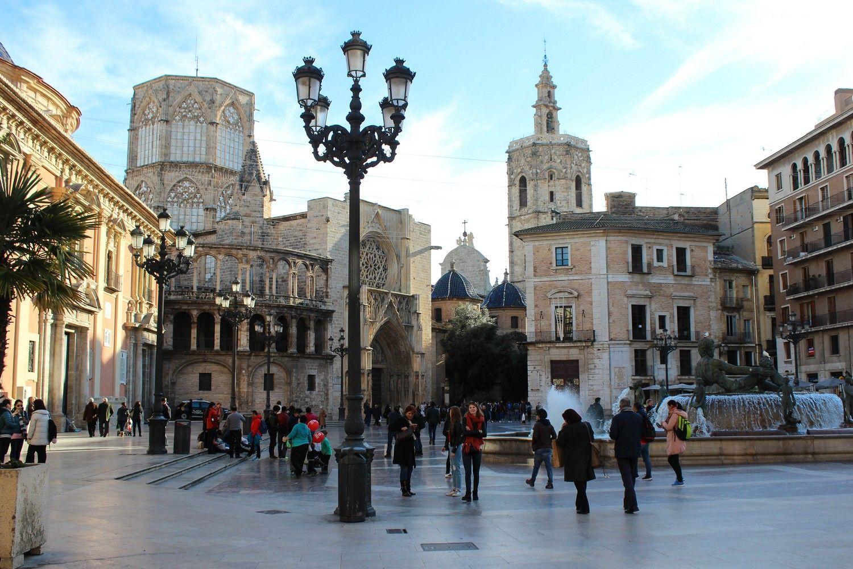 Plaza de la Virgen Valencia