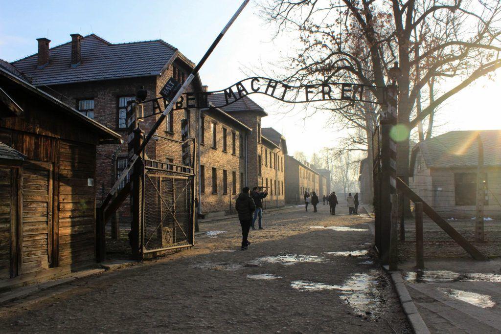 Auschwitz Arbeit macht Frei