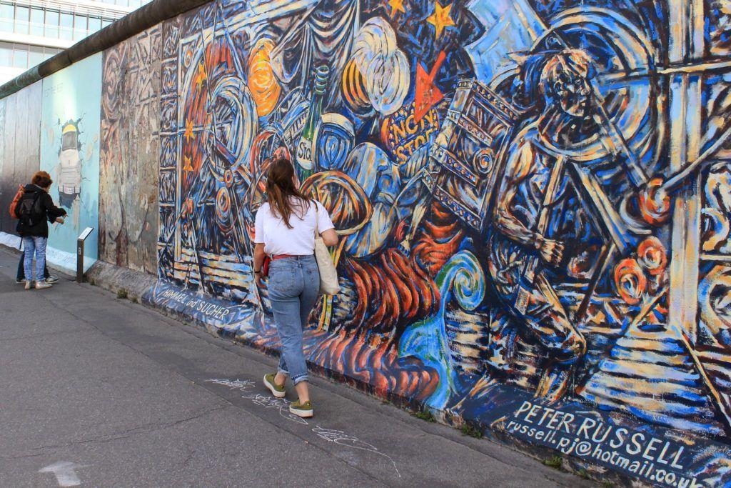 Bezienswaardigheden Berlijn: East Side Gallery