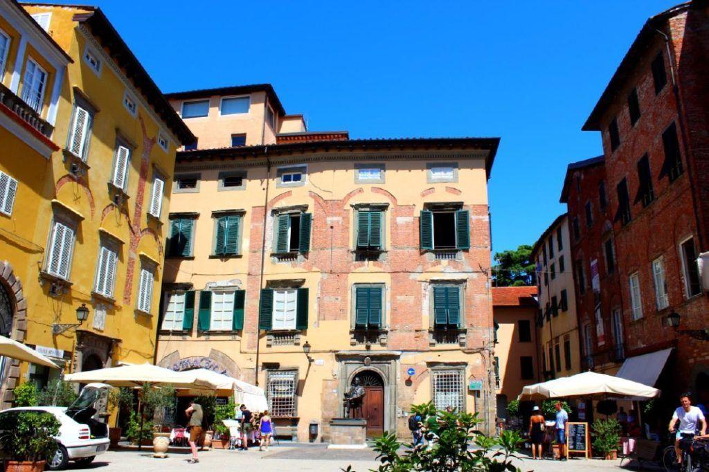 Lucca in Italië