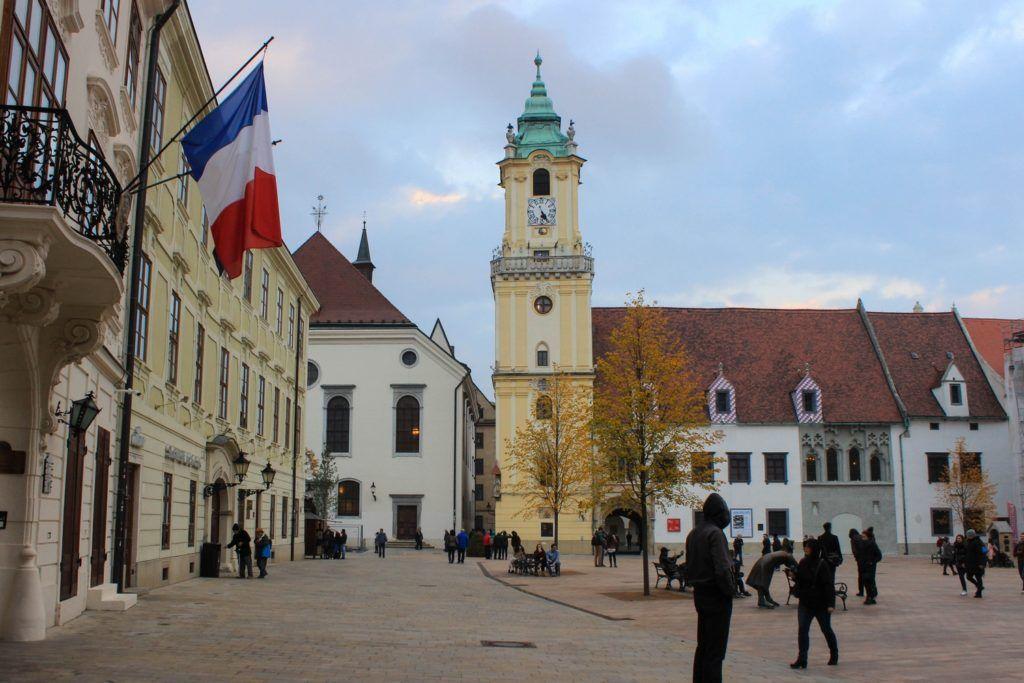 Het oude Stadhuis van Bratislava