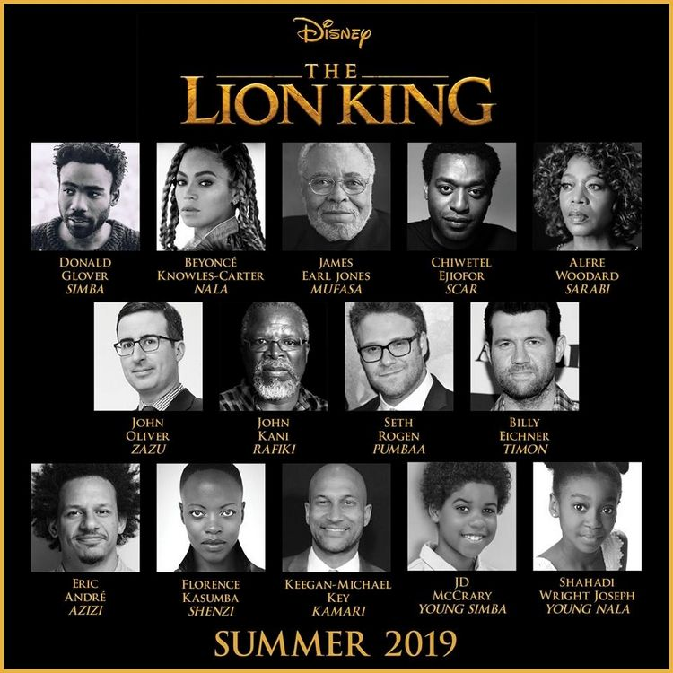 Beyoncé als Nala in The Lion King