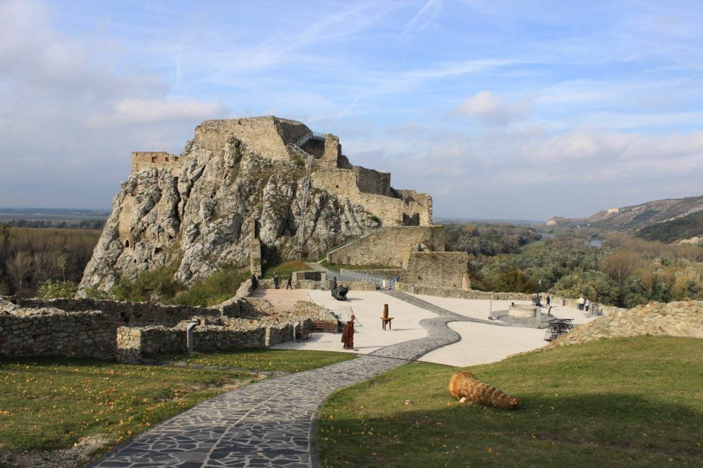 Devín Kasteel Bratislava (devín hrad)