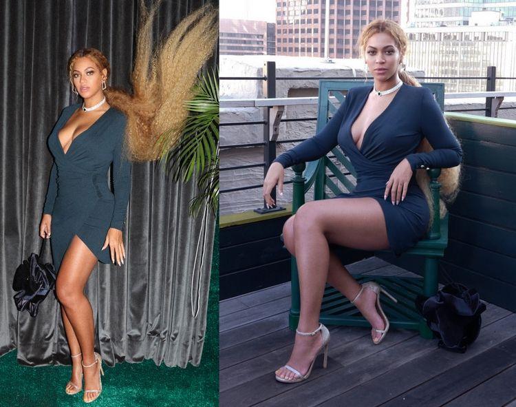 Beyoncé bij de Serena Williams bruiloft