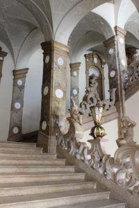 Binnenin Schloss Mirabell