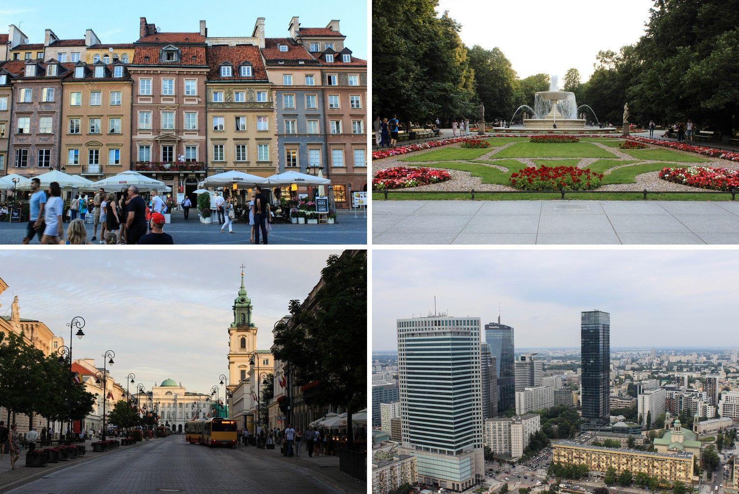 De veelzijdigheid van Warschau