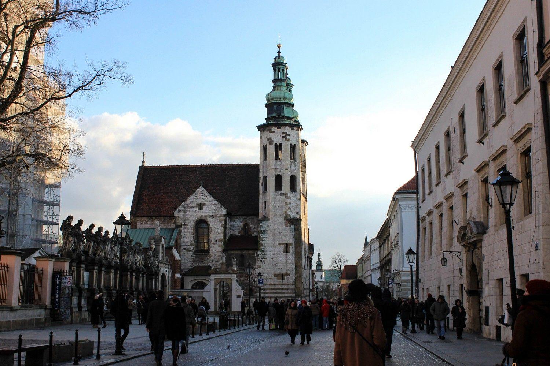 Sint-Andreaskerk in Krakau