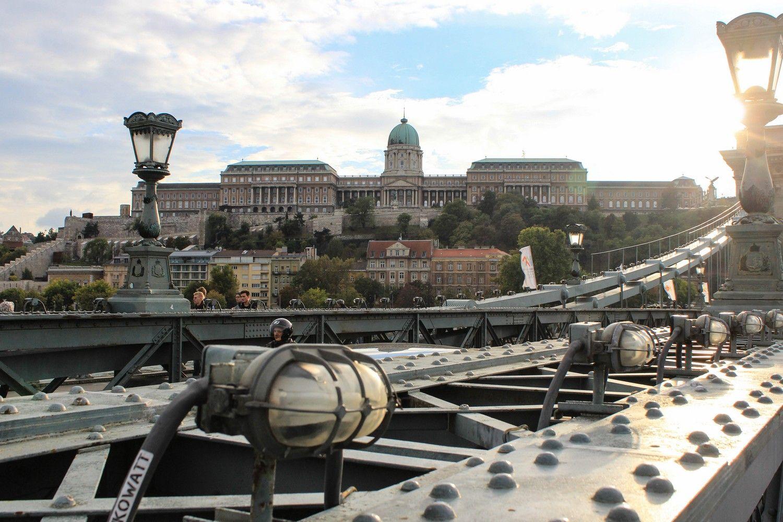 Het Burchtpaleis in Boedapest