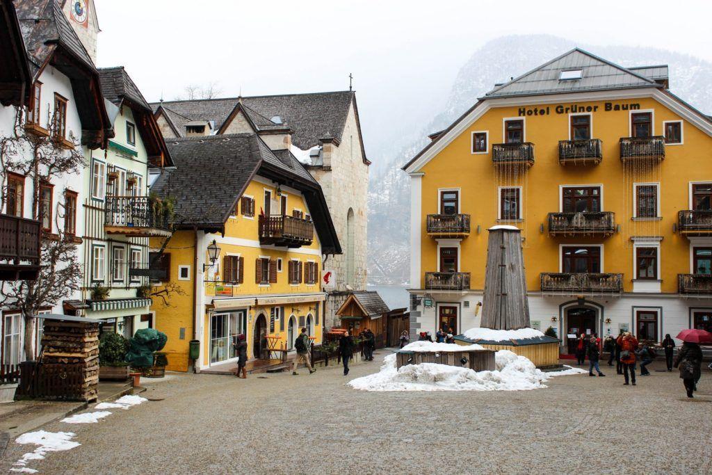Marktplatz in Hallstatt
