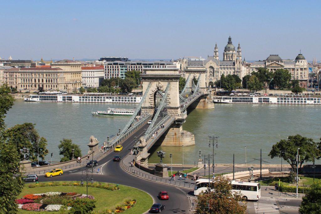 De Kettingbrug in Boedapest