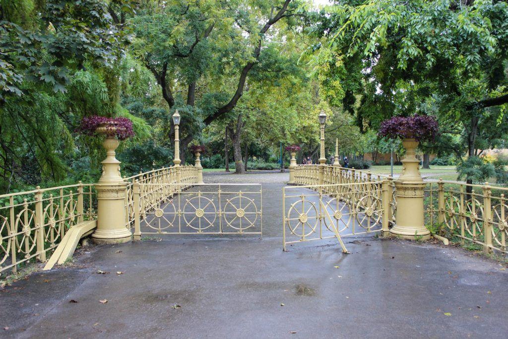 Het Stadspark van Boedapest