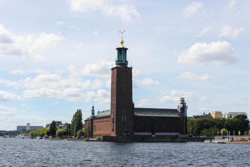 Het Stadhuis van Stockholm (Stadshuset)