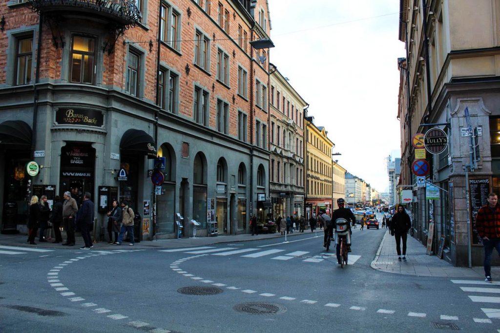 Wijk Södermalm in Stockholm
