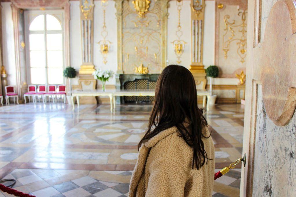 De Marborsaal (marmeren zaal) in Schloss Mirabell
