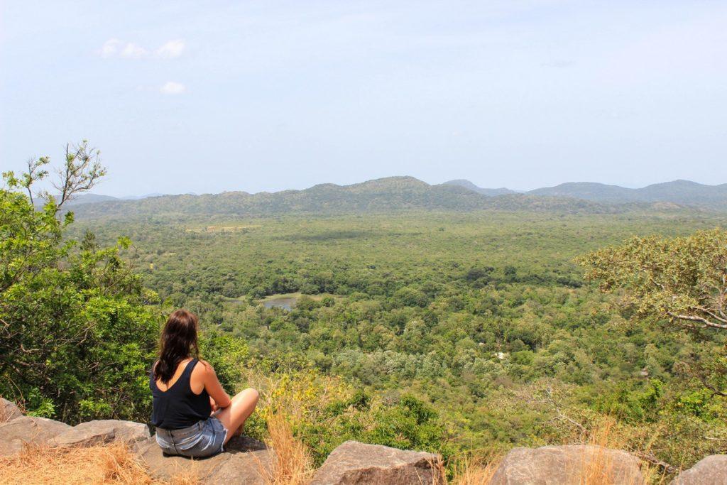 Uitzicht vanaf de Pidurangala Rock