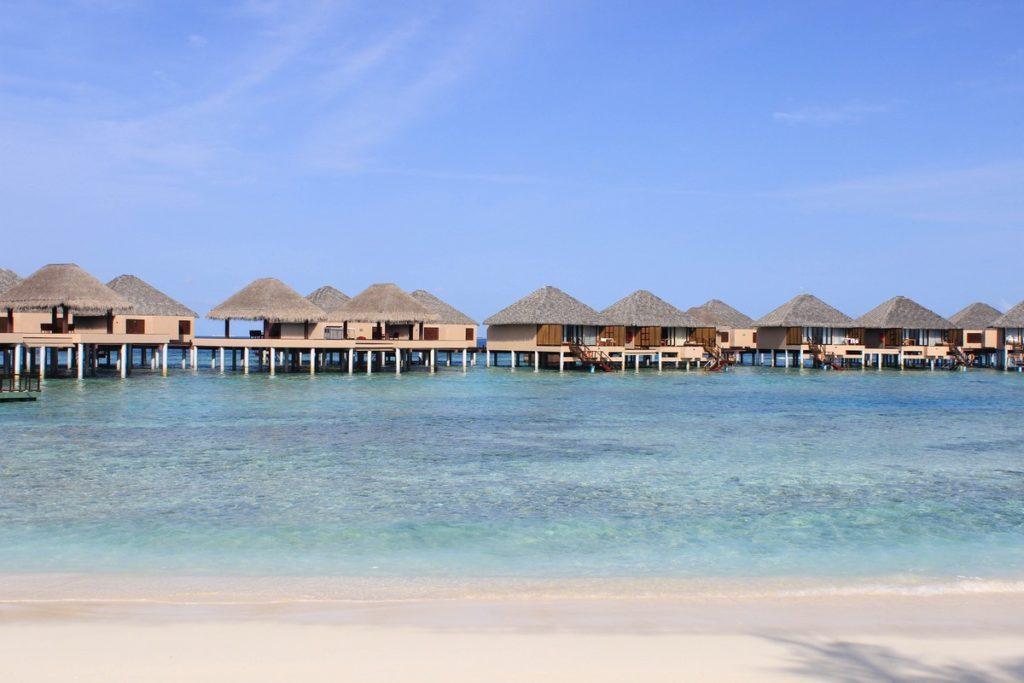 Resort op de Malediven