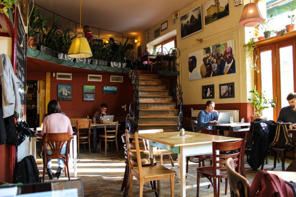 Café Csiga in Boedapest