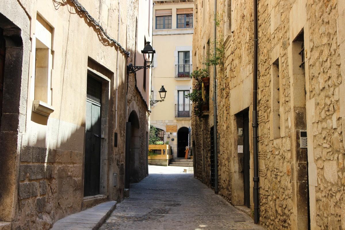 De straatjes van Girona