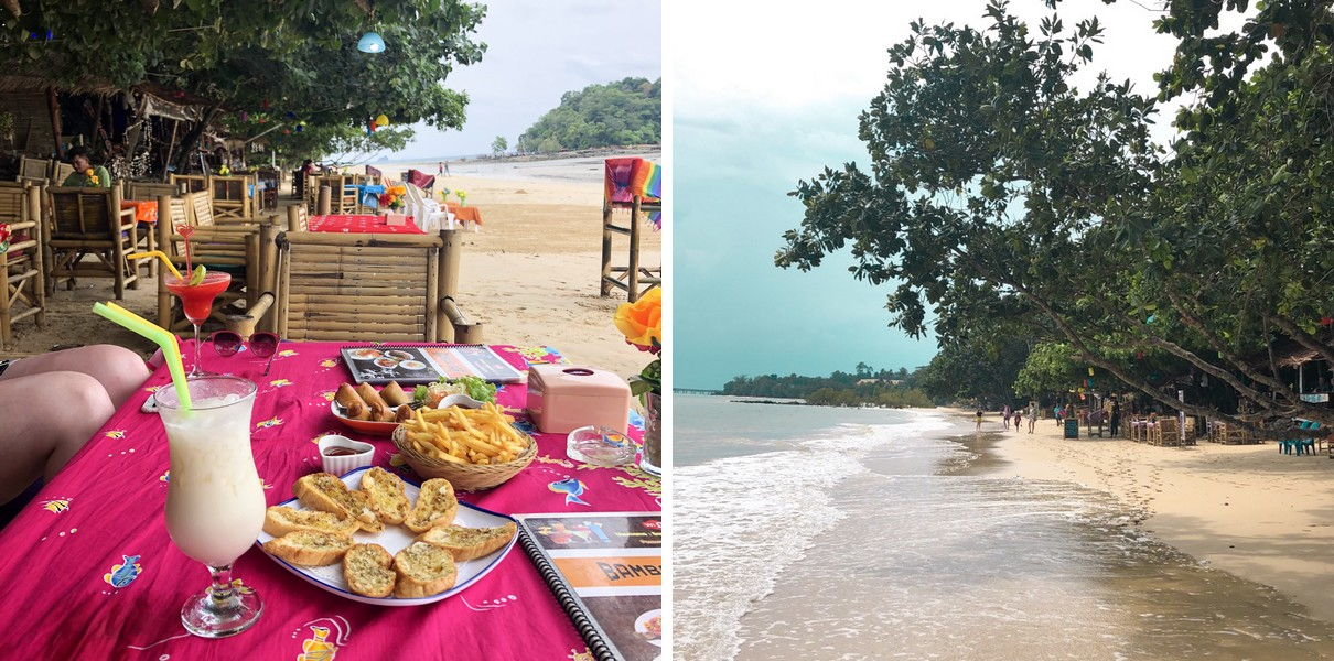 Ao Nang, Krabi in Thailand