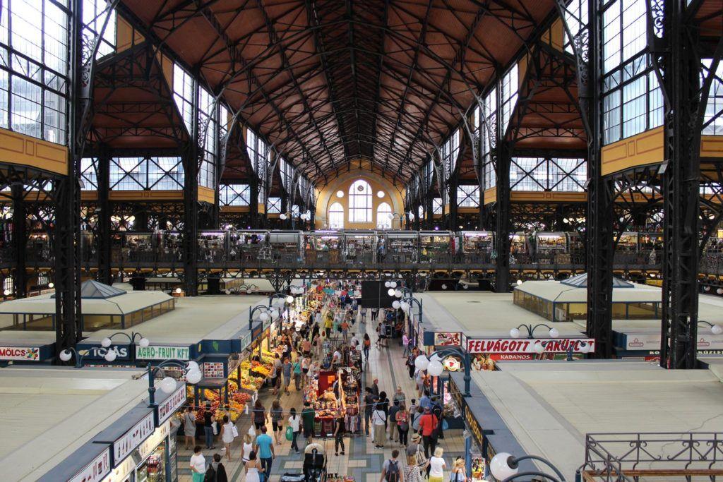 Centrale markthal Boedapest