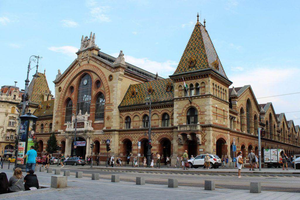 De Centrale Markthal van Boedapest