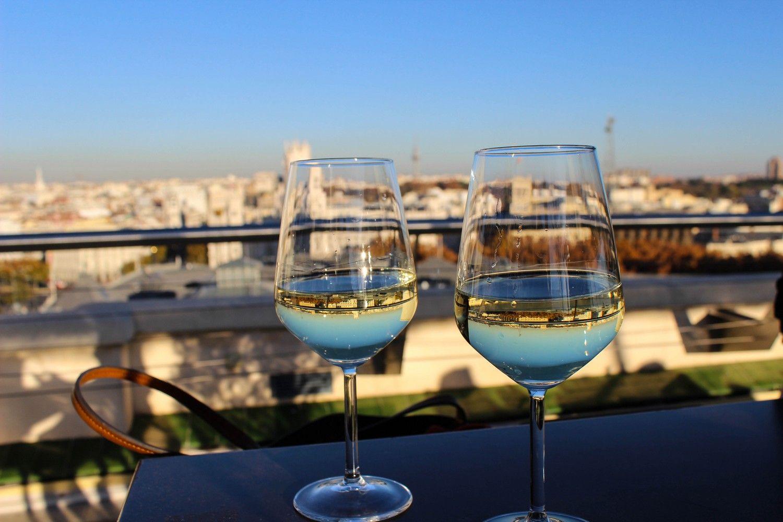 Madrid wijn dakterras