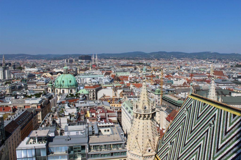 Stephansdom uitzicht Wenen