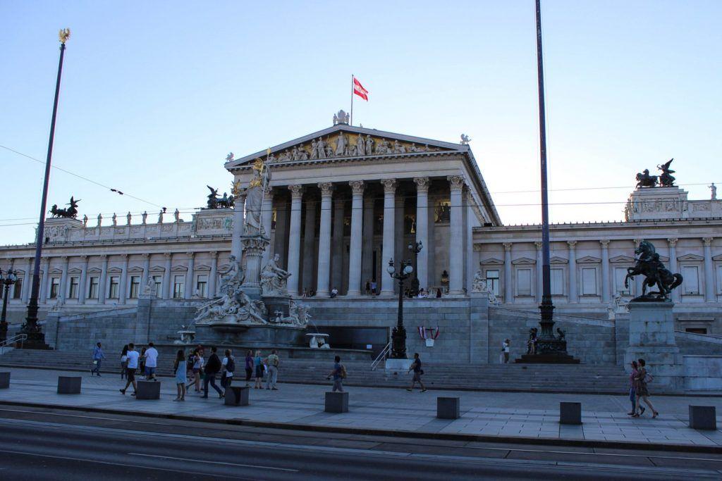 Parlementsgebouw Wenen