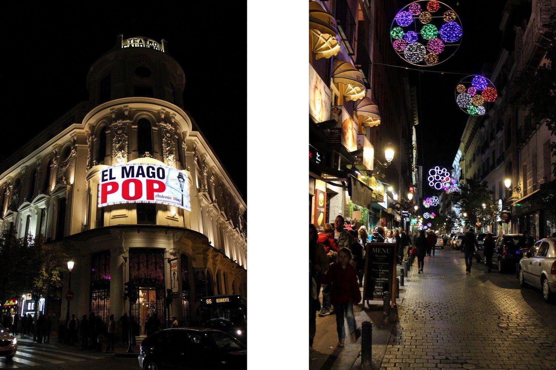 Madrid kerstmis