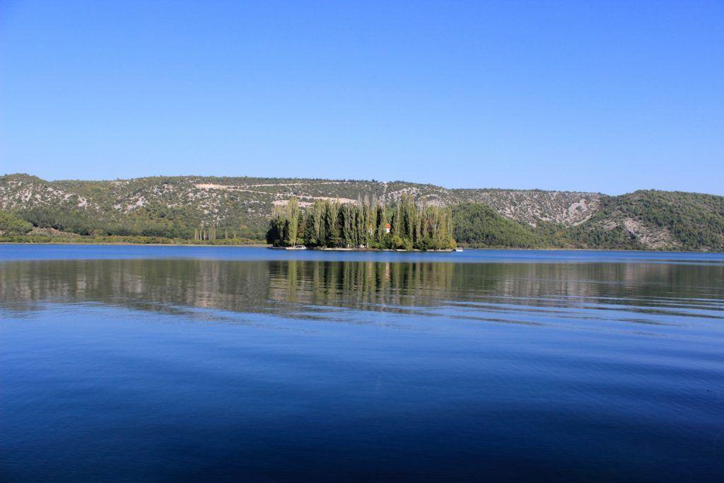Visovac in Nationaal Park Krka