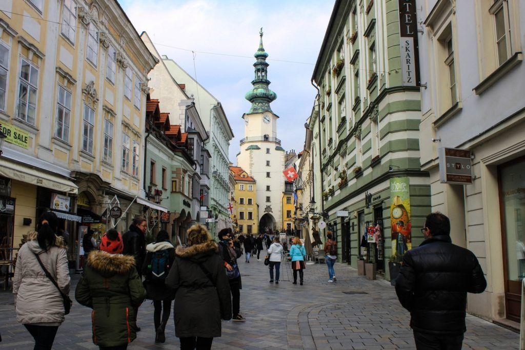 De Michael's Gate Bratislava