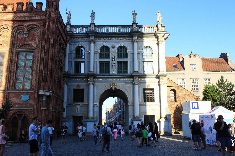 De Gouden poort in Gdansk
