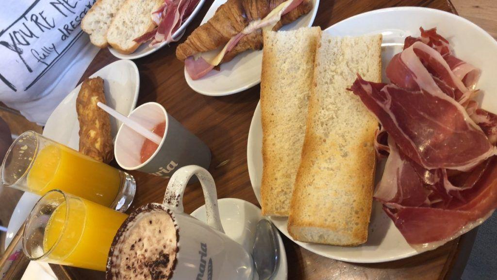 Ontbijt bij Panaria in Valencia