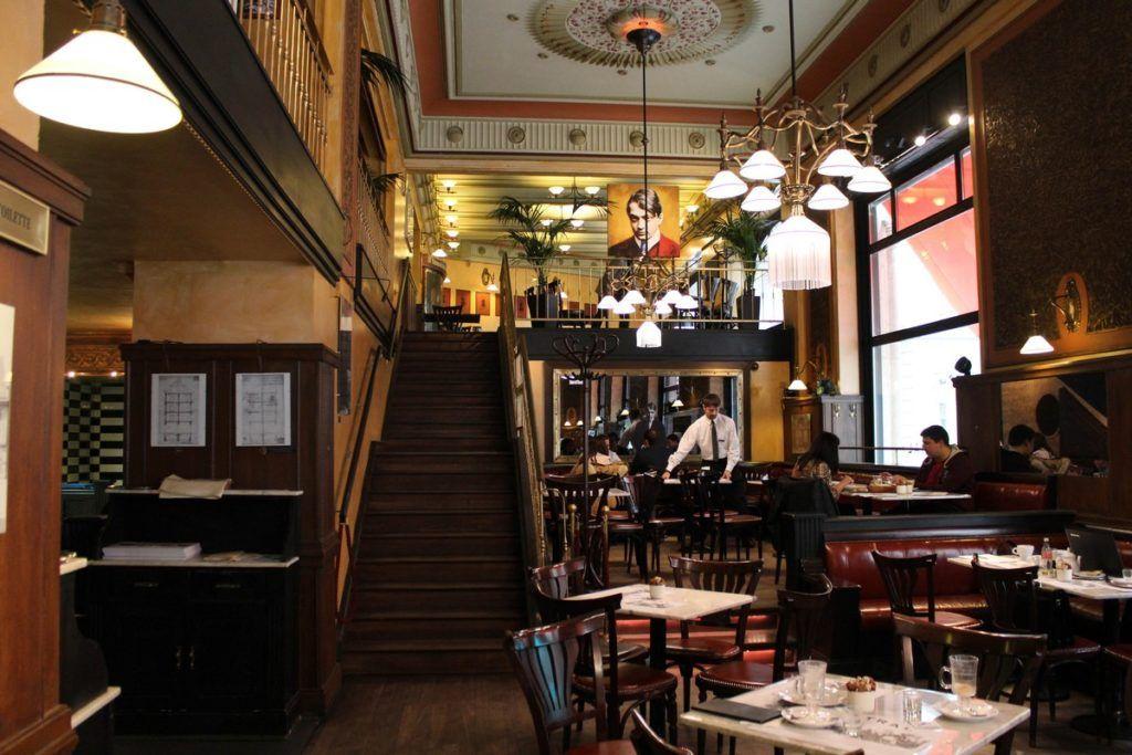 Café Centrál in Boedapest