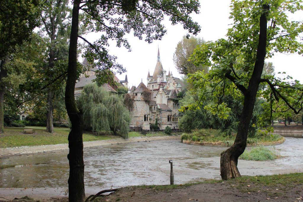 Het Stadspark in Boedapest