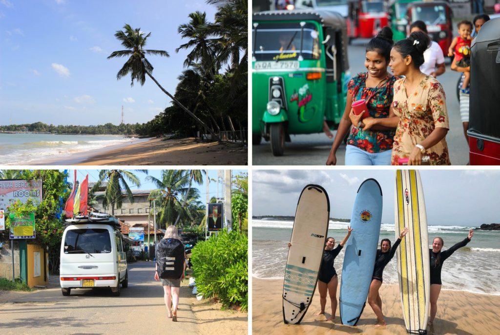 Surfen en chillen in Tangalle