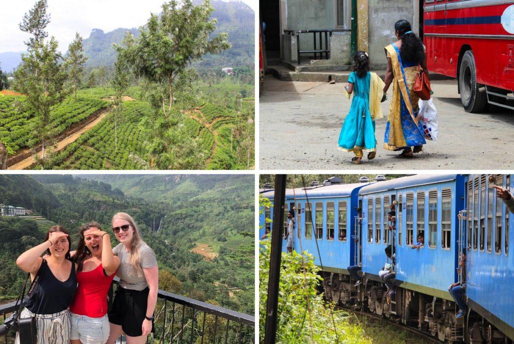 Nuwara Eliya en de treinreis naar Ella