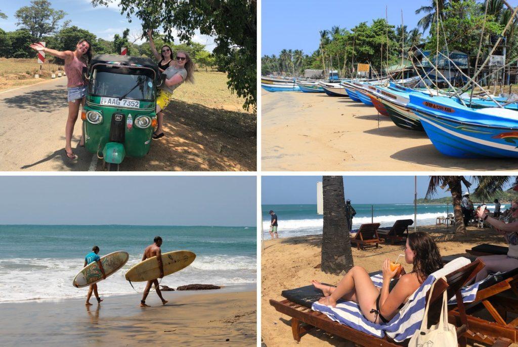 Stranddagen in Arugam Bay
