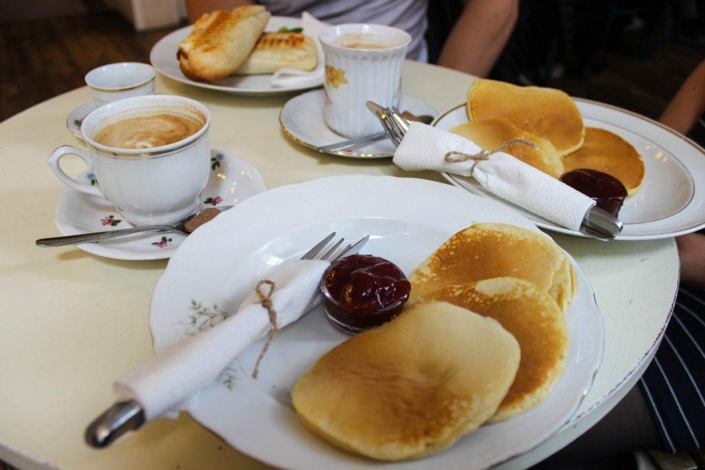 Ontbijten bij Zoska