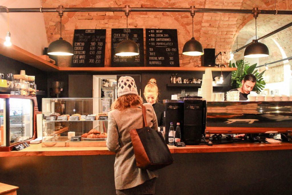 Espresso Embassy in Boedapest
