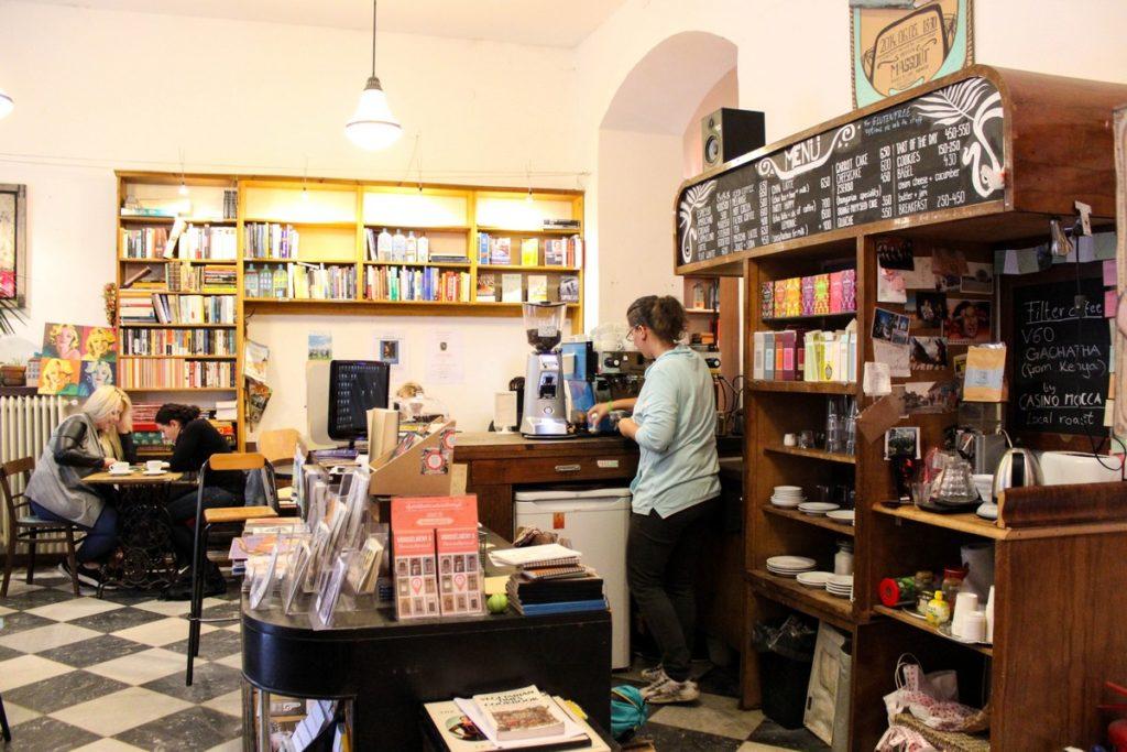 Massolit Books & Café in Boedapest