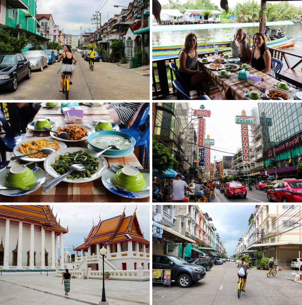 Co van Kessel fietstour in Bangkok