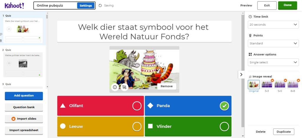 Online pubquiz organiseren met Kahoot!